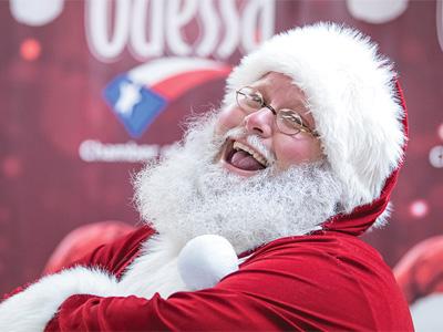 Santa's in Odessa!